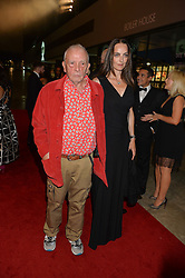 DAVID BAILEY and CATHERINE BAILEY at the GQ Men of The Year Awards 2016 in association with Hugo Boss held at Tate Modern, London on 6th September 2016.