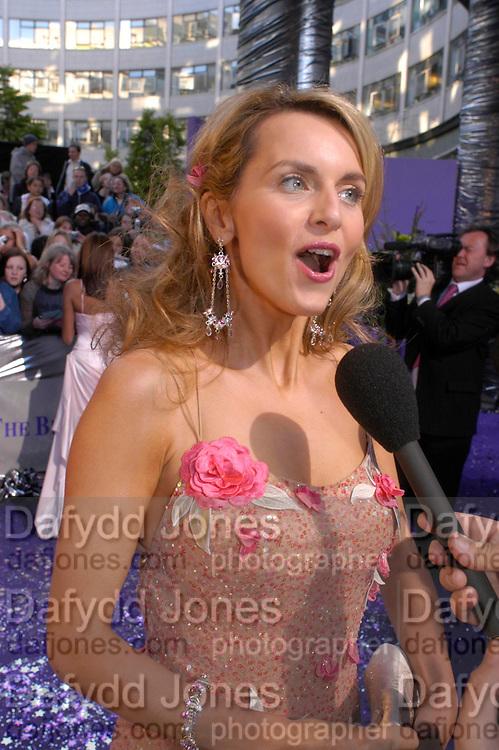 Debra Stephenson. The 2005 British Soap Awards, BBC TV Studios. London. May 7 2005. ONE TIME USE ONLY - DO NOT ARCHIVE  © Copyright Photograph by Dafydd Jones 66 Stockwell Park Rd. London SW9 0DA Tel 020 7733 0108 www.dafjones.com