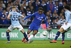 February 24, 2019 - London, England, United Kingdom - Chelsea's Callum Hudson-Odoi.during during Carabao Cup Final between Chelsea and Manchester City at Wembley stadium , London, England on 24 Feb 2019. (Credit Image: © Action Foto Sport/NurPhoto via ZUMA Press)