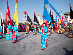 August 17, 2017 - Beijin, Beijin, China - Beijing, CHINA (EDITORIAL USE ONLY. CHINA OUT) ..The traditional heaven worshiping ritual is held at the Temple of Heaven in Beijing. (Credit Image: © SIPA Asia via ZUMA Wire)