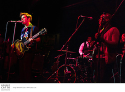 Eli Paperboy Reed and the True Loves play at Bodega in Wellington, New Zealand.