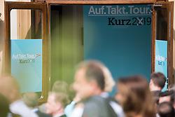 06.09.2019, Politische Akademie, Wien, AUT, ÖVP, Wahlkampfauftakt zur NR-Wahl 2019. im Bild Feature Auf Takt Tour Kurz 2019 // during campaign opening regarding to Austrian General Parliment Elections 2019 of the Austrian People' s Party in Vienna, Austria on 2019/09/06. EXPA Pictures © 2019, PhotoCredit: EXPA/ Michael Gruber