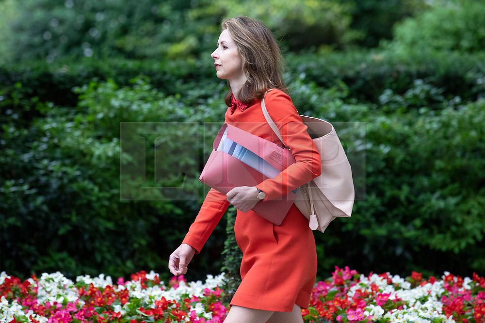 © Licensed to London News Pictures. 04/06/2018. London, UK. Head of Personal Investing at Legal & General Investment Management Dame Helena Morrissey arrives on Downing Street for a meeting of business leaders with Prime Minister Theresa May, The Chancellor of The Exchequer Philip Hammond, Secretary of State for International Trade Liam Fox and Secretary of State for Exiting the European Union David Davis. Photo credit: Rob Pinney/LNP