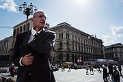 Piazza del Duomo, Milano 15 Aprile 2014.  Christian Mantuano / OneShot