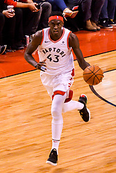 January 22, 2019 - Toronto, Ontario, Canada - Pascal Siakam #43 of the Toronto Raptors runs with the ball during the Toronto Raptors vs Sacramento Kings  NBA regular season game at Scotiabank Arena on January 22, 2018 in Toronto, Canada (Toronto Raptors win 120-105) (Credit Image: © Anatoliy Cherkasov/NurPhoto via ZUMA Press)