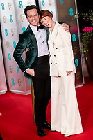 Andrew Scott and Jessie Buckley at the BAFTAS After Party at Grosvenor House, London, England, UK 2nd  February, 2020.