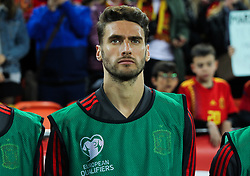 March 23, 2019 - Valencia, Valencia, Spain - Mario Hermnoso of Spain in action during European Qualifiers championship, , football match between Spain and Norway, March 23th, in Mestalla Stadium in Valencia, Spain. (Credit Image: © AFP7 via ZUMA Wire)