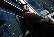 Pictured are students from South Birmingham College attending their graduation ceremony at the ICC in Birmingham.Credit Shaun Fellows/ Shinepix.co.uk