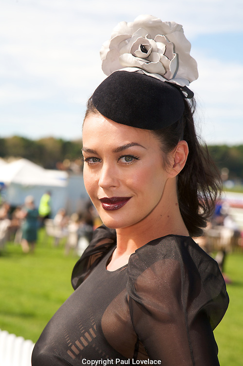 David Jones Australian Derby Day 2010 , Sydney-Australia.Paul Lovelace Photography.Megan Gale.[Total 69 Images].[Non Exclusive] . An instant sale option is available where a price can be agreed on image useage size. Please contact me if this option is preferred.