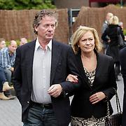 NLD/Bilthoven/20120618 - Uitvaart Will Hoebee, Harry van Hoof en partner