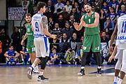DESCRIZIONE : Eurolega Euroleague 2015/16 Group D Dinamo Banco di Sardegna Sassari - Darussafaka Dogus Istanbul<br /> GIOCATORE : Joe Alexander Semih Erden<br /> CATEGORIA : Fair Play<br /> EVENTO : Eurolega Euroleague 2015/2016<br /> GARA : Dinamo Banco di Sardegna Sassari - Darussafaka Dogus Istanbul<br /> DATA : 19/11/2015<br /> SPORT : Pallacanestro <br /> AUTORE : Agenzia Ciamillo-Castoria/L.Canu