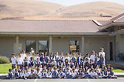 Monarch Christian Academy school poses for a portrait at Monarch Christian Academy in Milpitas, California, on September 12, 2014. (Stan Olszewski/SOSKIphoto)