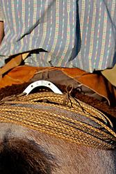 A tradição da encilha argentina. Gaúcho monta cavalo pelos campos argentinos. FOTO: Eduardo Rocha/Preview.com