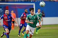 SOCCER : GFC Ajaccio vs Red Star -Coupe de la ligue - 08/22/201<br /> <br /> (GFCA) vs M. Ferreira (Red Star)<br /> <br /> Norway only
