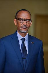 June 5, 2018 - Brussels, Belgium - Portrait Paul Kagame.Bruxelles, le 05 juin 2018.F.Andrieu  Agencepeps  Reporters.......Reporters  Andrieu (Credit Image: © Reporters via ZUMA Press)