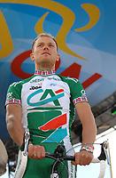 Sykkel<br /> Foto: Dppi/Digitalsport<br /> NORWAY ONLY<br /> <br /> CYCLING - UCI PRO TOUR - TOUR DE FRANCE 2007 - 6/07/2007 <br /> <br /> LONDON (GBR) - TEAMS PRESENTATION - THOR HUSHOVD (NOR)