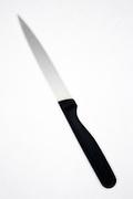 blurry kitchen knife