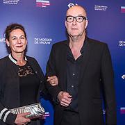 NLD/Amsterdam/20190322  - Boekenbal 2019, Bart Chabot en partner