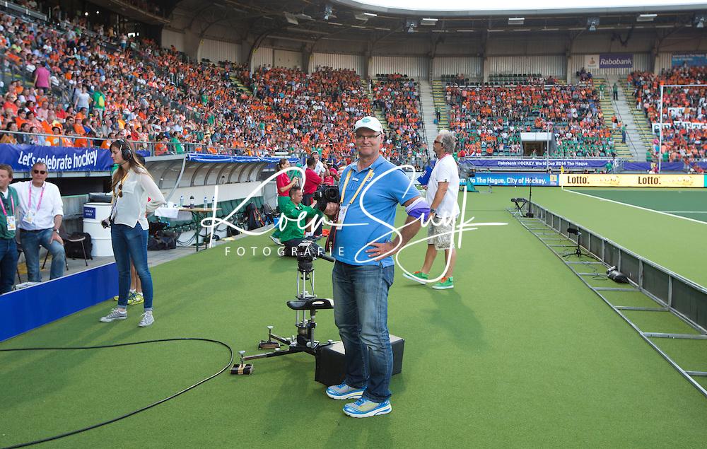 DEN HAAG - Grant Treeby. WORLD CUP Hockey 2014.  COPYRIGHT  KOEN SUYK