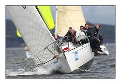 Brewin Dolphin Scottish Series 2011, Tarbert Loch Fyne - Yachting - Day 1 of the 4 day series..IRL725 ,Bengal Magic ,Moorehead/Ferres  ,RUYC ,J35.