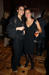 Left to right, ZEINA DAKAK and ELLEN SPAN at a party to celebrate the publication of 'Dancing into Waterloo' by Nick Foulkes held at The Westbury Hotel, Conduit Street, London on 14th December 2006.<br /><br />NON EXCLUSIVE - WORLD RIGHTS