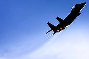 Israeli Air force Fighter jet Boeing F-15I Airborne