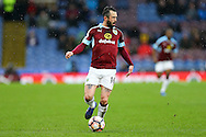 Steven Defour of Burnley in action. The Emirates FA cup 4th round match, Burnley v Bristol City at Turf Moor in Burnley, Lancs on Saturday 28th January 2017.<br /> pic by Chris Stading, Andrew Orchard Sports Photography.