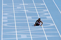 ATHLETICS - 20TH EUROPEAN ATHLETICS CHAMPIONSHIPS 2010 - BARCELONA (ESP) - 16/07 to 01/08/2010 - 28/07/10 - PHOTO : JULIEN CROSNIER / DPPI - 100M WOMEN - FOLAKE AKINYEMI (NOR)