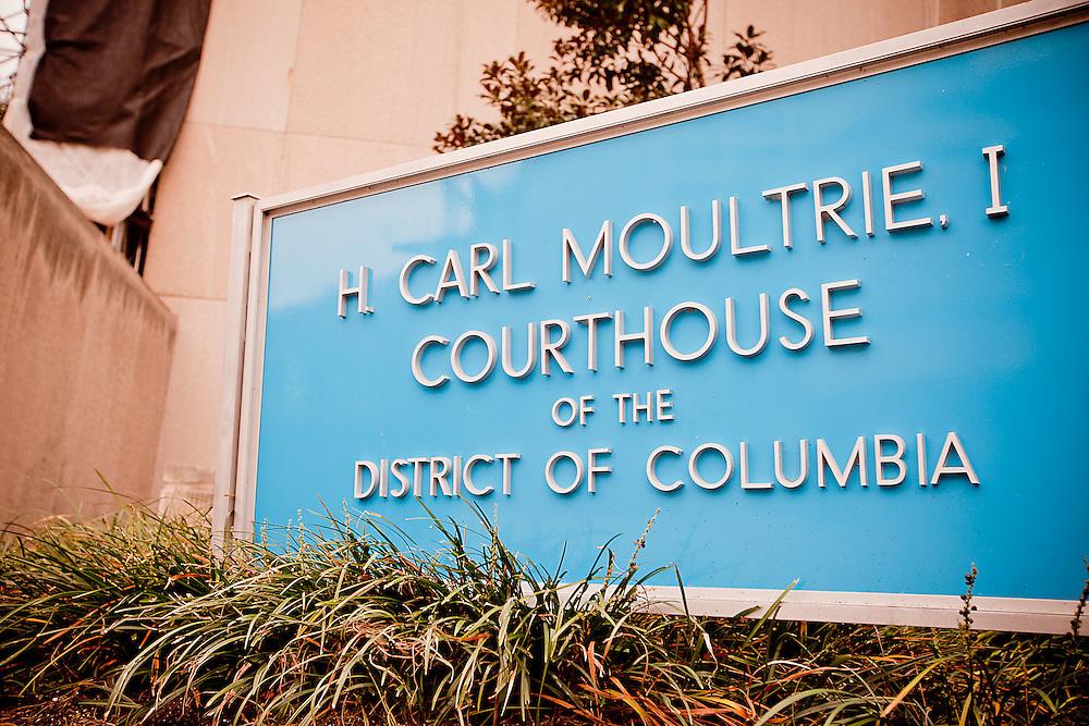 Washington, Oct. 26, 2010 - Moultrie Courthouse in Washington, DC