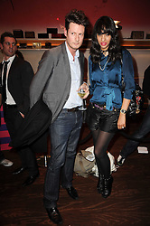 PERCY PARKER and JOY VIELI at a party to celebrate the launch of the Nokia X6 16GB phone held at Sketch, 9 Conduit Street, London on 3rd March 2010.