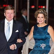 NLD/Rotterdam/20140201 - Beatrix met hart en ziel, Koning Willem-Alexander en Koningin Maxima