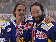Der Goldene Torschuetze Robin Leblanc und Yves Sarault © Pascal Gabriel