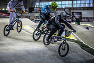 #974 (MAYET Romain) FRA at Round 2 of the 2019 UCI BMX Supercross World Cup in Manchester, Great Britain