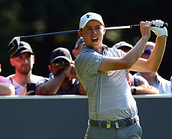May 25, 2017 - Virginia Water, United Kingdom - Matthew Fitzpatrick of England.during 1st Round for the 2017 BMW PGA Championship on the west Course at Wentworth on May 25, 2017 in Virginia Water,England  (Credit Image: © Kieran Galvin/NurPhoto via ZUMA Press)