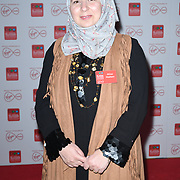 Afraa Hashem arrivers at the Broadcasting Press Guild TV & Radio Awards, at Banking Hall, on 13th March 2020, London, UK