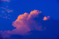 Clouds at sunset, Bhaktapur, Kathmandu Valley, Nepal.