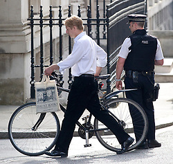 © Licensed to London News Pictures. 16/07/2013. London, UK. The Jo Johnson, the brother of the Boris Johnson, Mayor Of London, is seen on Downing Street in London today (16/07/2013). Photo credit: Matt Cetti-Roberts/LNP