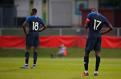 11.06.2019, Profertil Arena, Hartberg, AUT, Testspiel, U21, Oesterreich vs Frankreich, im Bild Ibrahima Sissoko (FRA) und Moussa Niakhate (FRA) // Ibrahima Sissoko (FRA) and Moussa Niakhate (FRA) during the International U21 Friendly Football Match between Austria and France at the Profertil Arena in Hartberg, Austria on 2019/06/11. EXPA Pictures © 2019, PhotoCredit: EXPA/ Erwin Scheriau