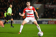 Ben Whiteman of Doncaster Rovers (8) passes the ball during the EFL Sky Bet League 1 match between Doncaster Rovers and Sunderland at the Keepmoat Stadium, Doncaster, England on 23 October 2018.