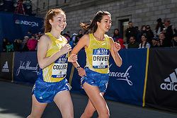 BAA Invitational Miles, High School Girls Mile race, Collins, Driver