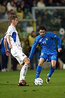 Palermo 18/2/2004 Amichevole - Friendly Match <br />Italy Czech Republic - Italia Repubblica Ceca 2-2 <br />Stefano Fiore (Italy) challenged by David Rozehnal (Cze)<br />Photo Andrea Staccioli Graffiti