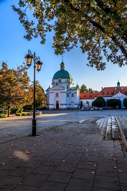 St. Casimir Church monastery in Warsaw, Poland.