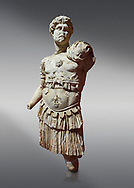 Roman statue of Emperor Hadrian. Marble. Perge. 2nd century AD. Inv no 3053. Antalya Archaeology Museum; Turkey. .<br /> <br /> If you prefer to buy from our ALAMY STOCK LIBRARY page at https://www.alamy.com/portfolio/paul-williams-funkystock/greco-roman-sculptures.html . Type -    Antalya     - into LOWER SEARCH WITHIN GALLERY box - Refine search by adding a subject, place, background colour, museum etc.<br /> <br /> Visit our ROMAN WORLD PHOTO COLLECTIONS for more photos to download or buy as wall art prints https://funkystock.photoshelter.com/gallery-collection/The-Romans-Art-Artefacts-Antiquities-Historic-Sites-Pictures-Images/C0000r2uLJJo9_s0