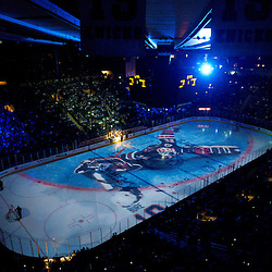 May 14, 2012: General View of Madison Square Garden prior to first period action in game 1 of the NHL Eastern Conference Finals between the New Jersey Devils and New York Rangers at Madison Square Garden in New York, N.Y.