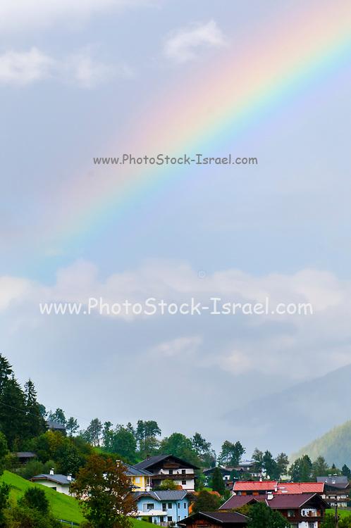 Rainbow Photographed in Neustift im Stubaital, Tyrol, Austria