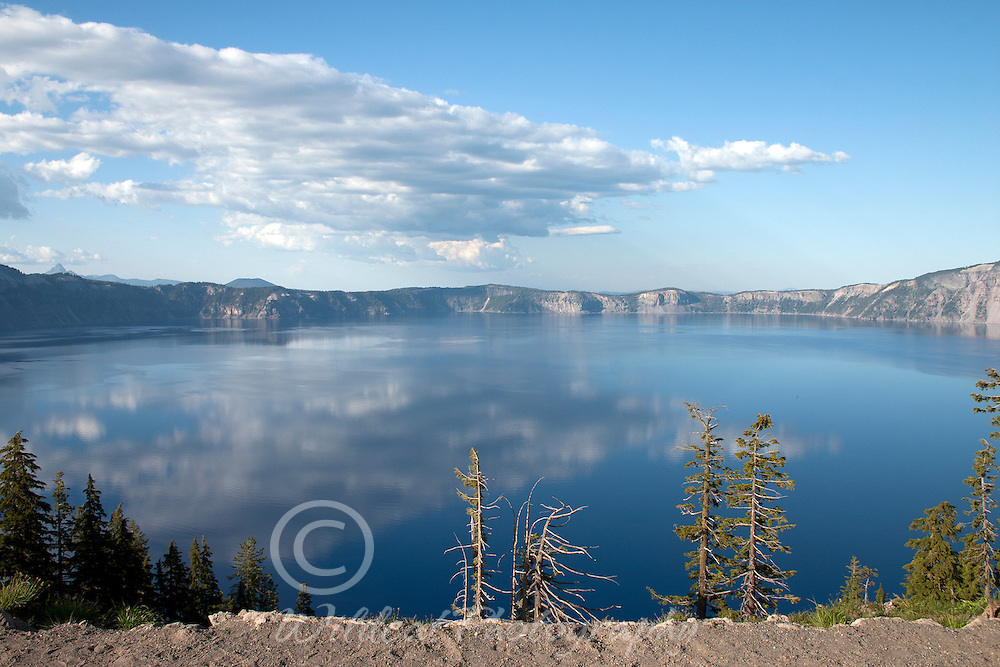 Crater Lake from the rim.
