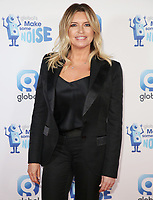 Tina Hobley, Global's Make Some Noise Night in London, Finsbury Square Marquee, London UK, 20 November 2018