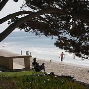 Butterfly Beach is a small, semi secluded beach in Santa Barbara, California.