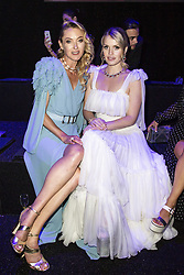 Princess Lilly Sayn Wittgenstein Berleburg, Kitty Spencer attend the fashion show during Bvgalri Gala Dinner held at the Stadio dei Marmi in Rome, Italy on June 28, 2018. Photo by Marco Piovanotto/ABACAPRESS.COM
