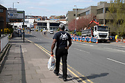 Local atmosphere due to Coronavirus lockdown is felt on a street by street level as streets remain deserted as people observe the stay at home advice from the government on 7th April 2020 in Birmingham, England, United Kingdom. Coronavirus or Covid-19 is a new respiratory illness that has not previously been seen in humans. While much or Europe has been placed into lockdown, the UK government has announced more stringent rules as part of their long term strategy, and in particular social distancing.